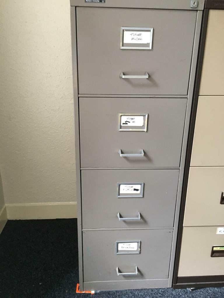 Roneo Vickers Filing Cabinets Cabinet Ideas