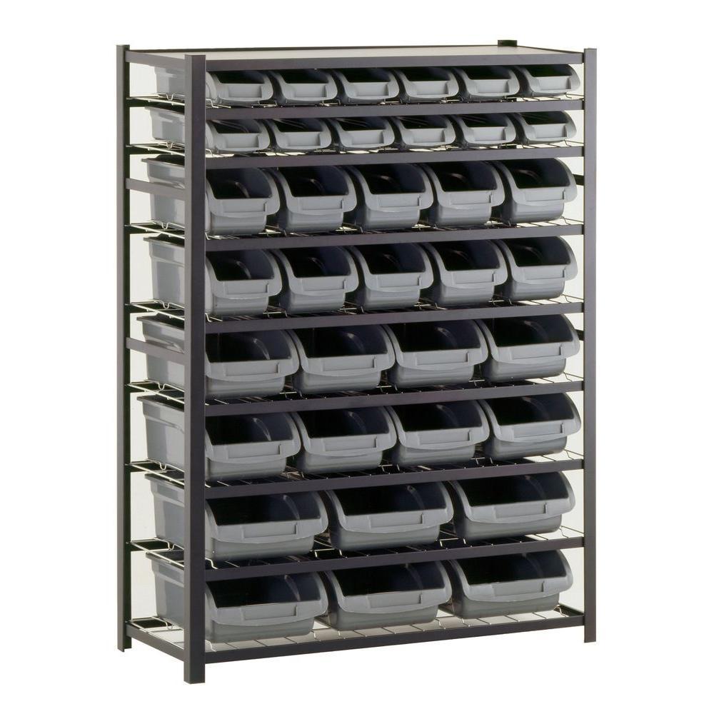 Sandusky 57 In H X 44 In W X 16 In D Steel Commercial Bin for dimensions 1000 X 1000