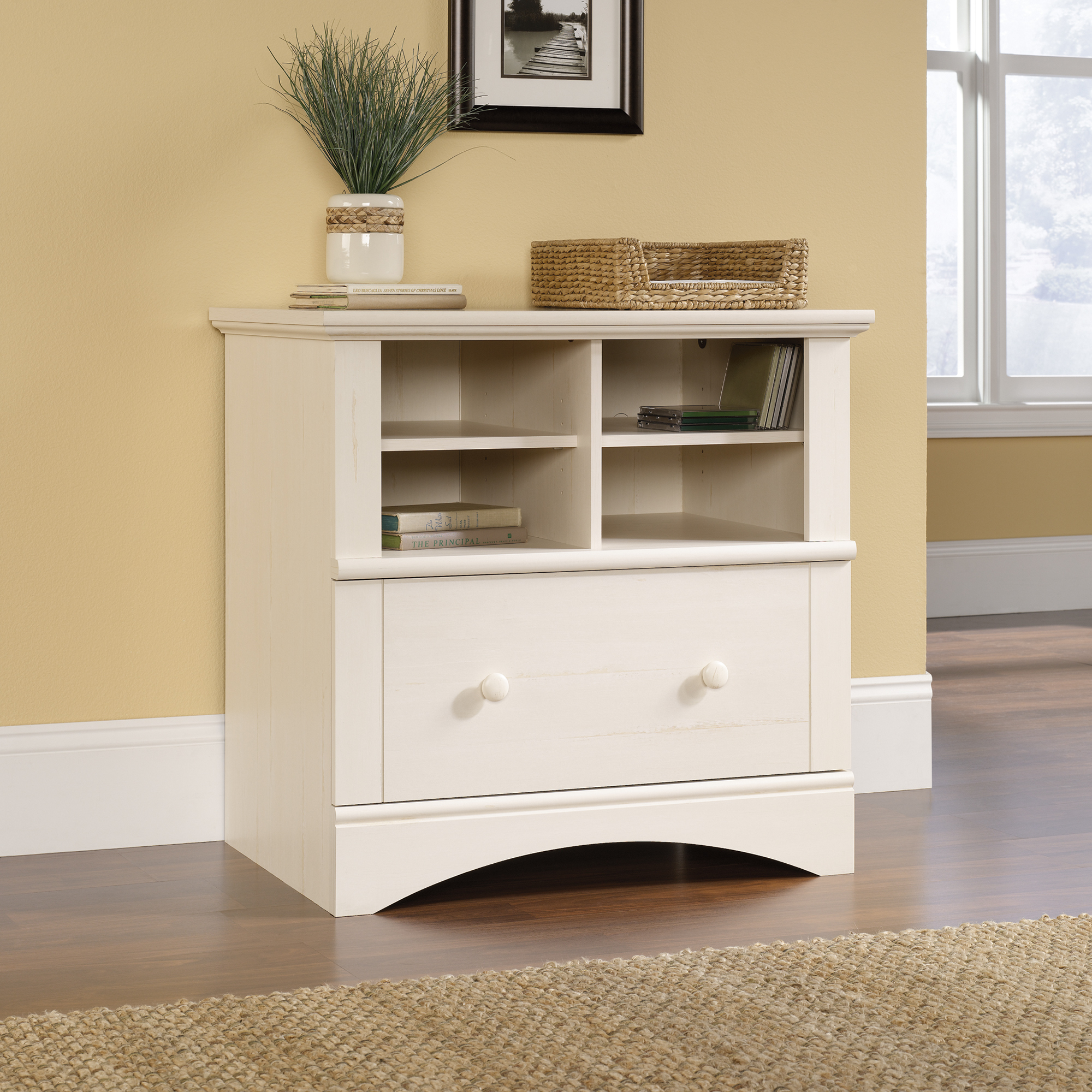 Sauder Harbor View Lateral File 158002 Sauder The Furniture Co intended for dimensions 2000 X 2000