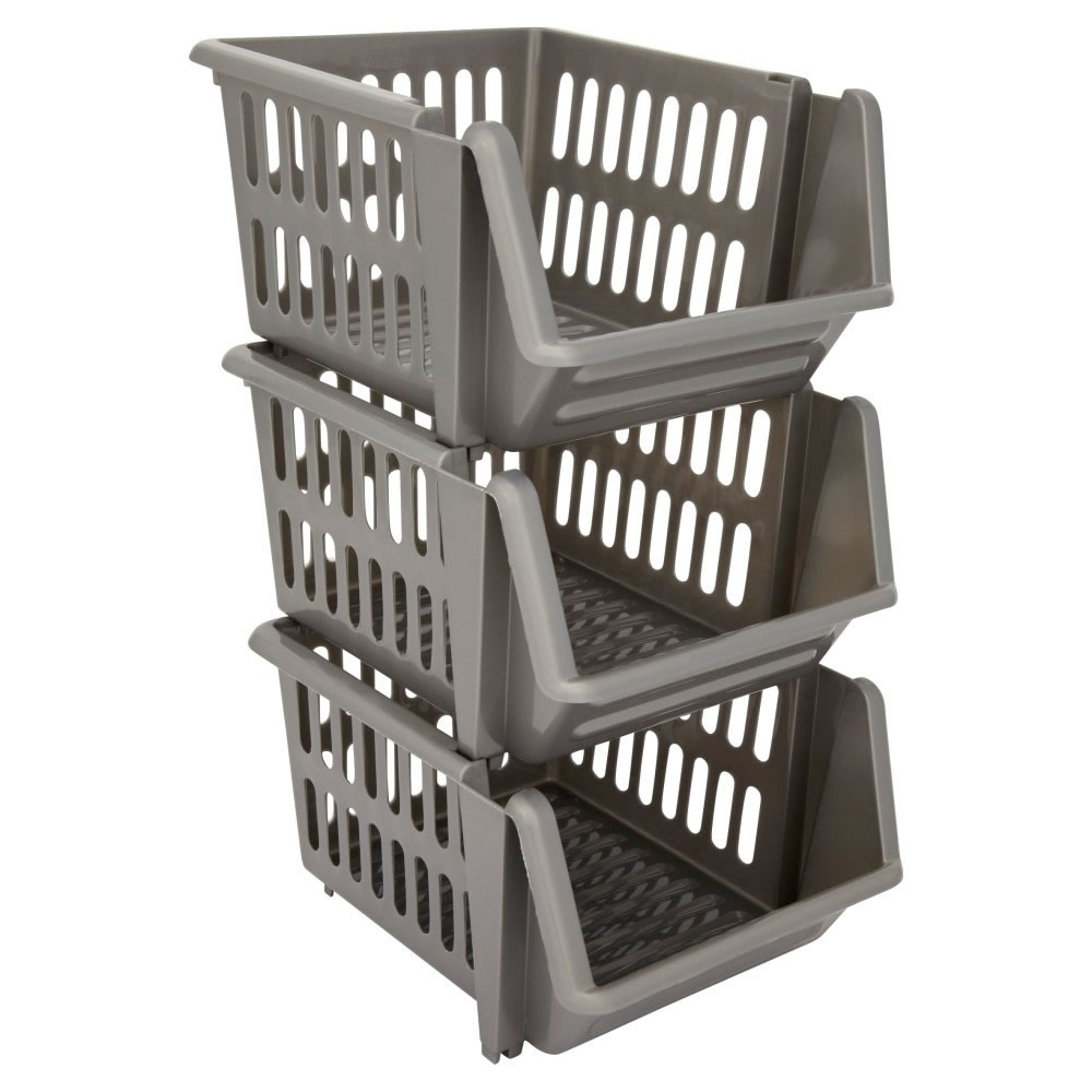 Madison Art Center Design: Rolling Stackable Storage Bins • Cabinet Ideas