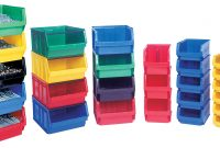 Stackable Plastic Storage Bins Useful For Modern Home Decoration with proportions 2587 X 1305