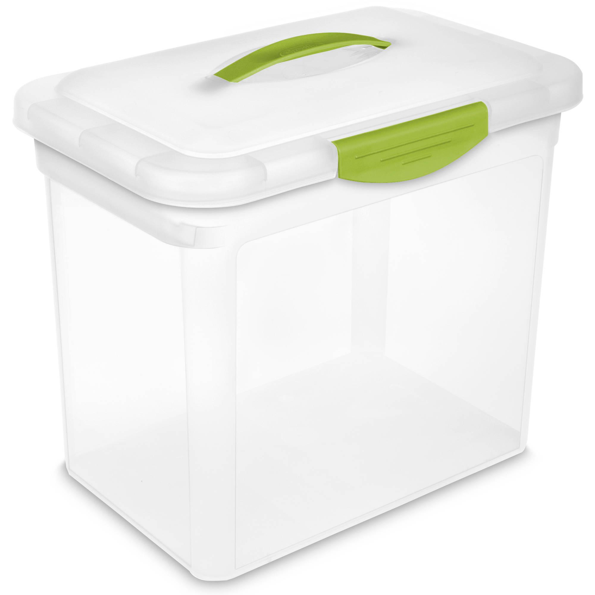 Sterilite 145 Gallon Infra Red Storage Box 2 Piece Walmart in dimensions 2000 X 2000