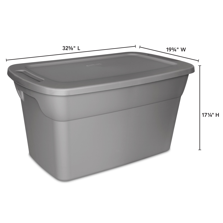 Sterilite 30 Gallon Tote Box Walmart inside dimensions 3000 X 3000