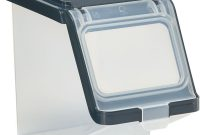This Plastic Storage Bin With Lid Gives You A Simple Way To Add with regard to dimensions 1000 X 1000