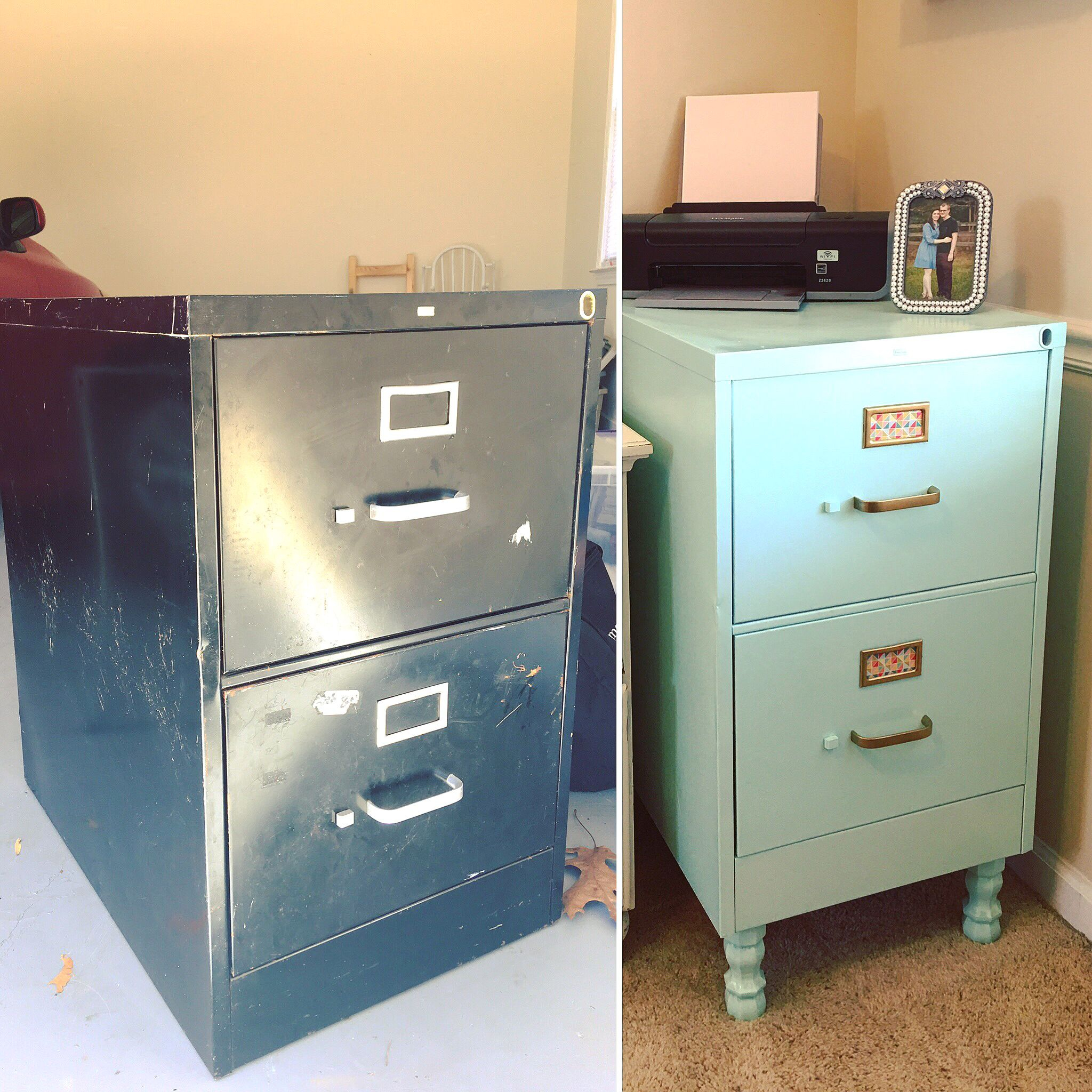 Took An Ugly Rusty 8 Filing Cabinet And Made It Cute Filing with regard to dimensions 2048 X 2048