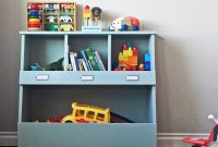 Toy Storage Bin Box With Cub Shelves Ana White for proportions 1000 X 998