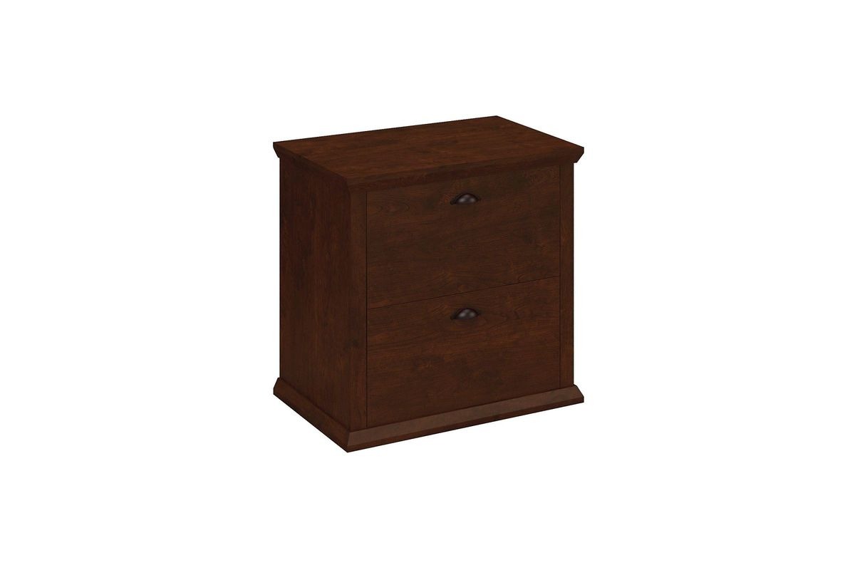 Yorktown Lateral File Cabinet In Antique Cherry Bush intended for measurements 1200 X 800