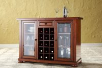 Alexandria Sliding Bar Cabinet Cherry D Kf40002ach with measurements 1500 X 1500