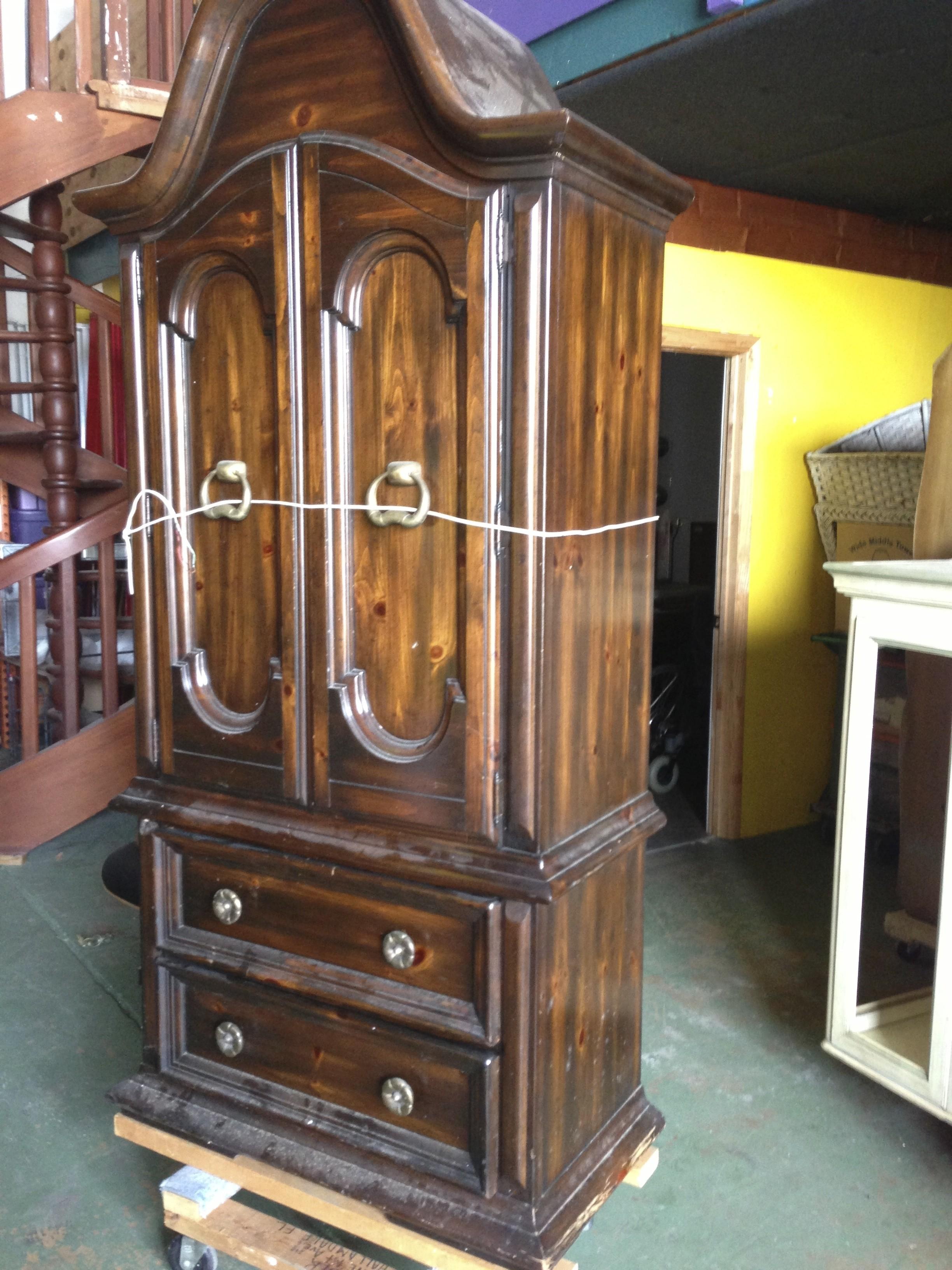 Antique Vintage Bar Cabinets Armoire throughout measurements 2448 X 3264
