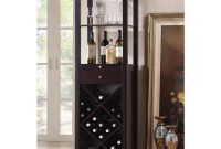 Austin 24 Bottle Dark Brown Bar Cabinet Products Wine for proportions 1000 X 1000