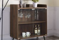 Carson Carrington Ny 36 Inch Glass Door Bar Cabinet 30 X 16 X 38h with sizing 2000 X 2000