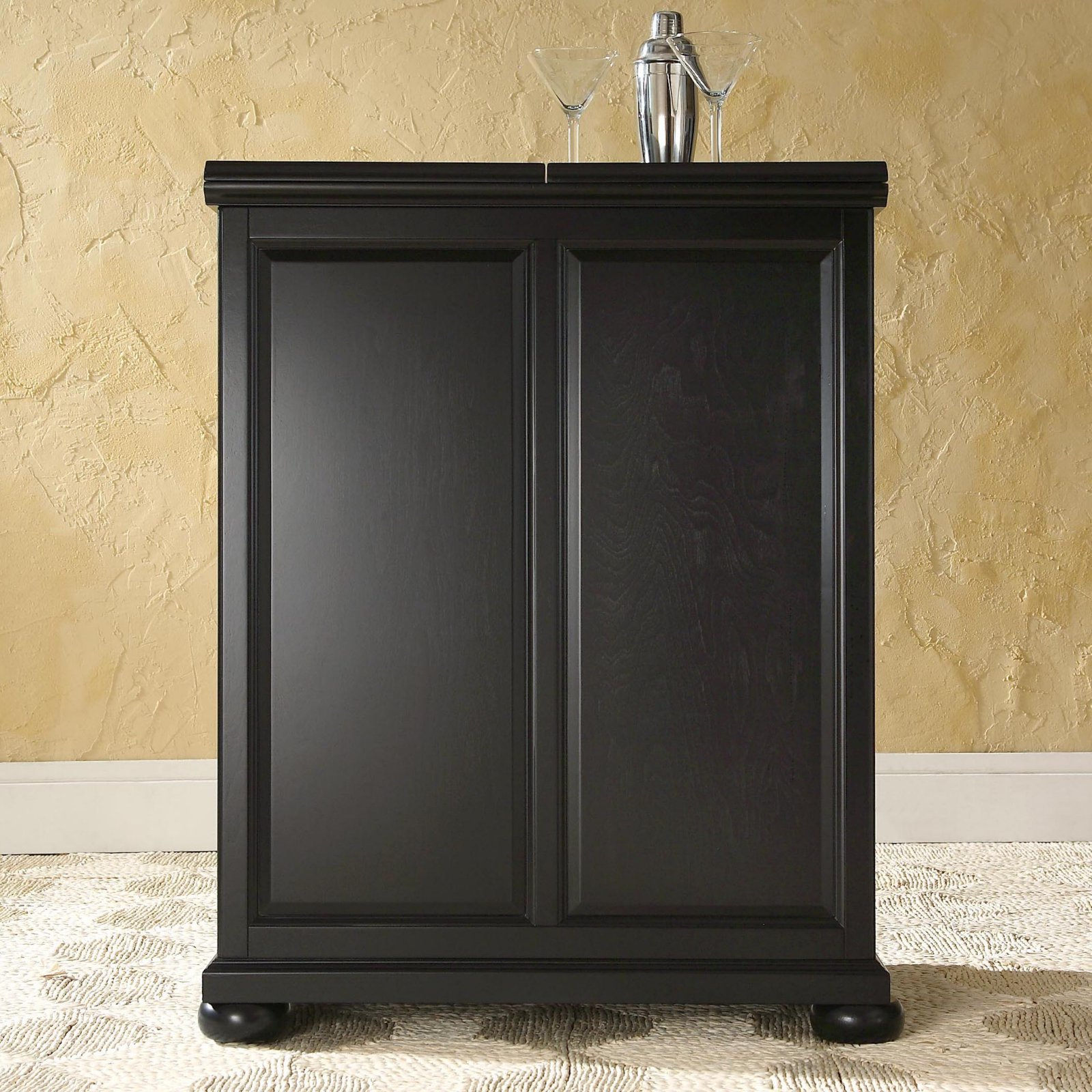 Crosley Alexandria Expandable Bar Cabinet Products In 2019 for dimensions 1600 X 1600
