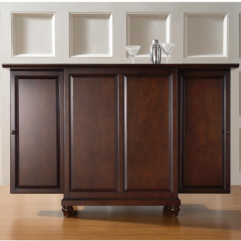 Crosley Furniture Cambridge Expandable Bar Cabinet in size 2428 X 2428
