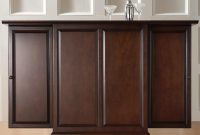 Crosley Furniture Cambridge Expandable Bar Cabinet pertaining to measurements 2428 X 2428