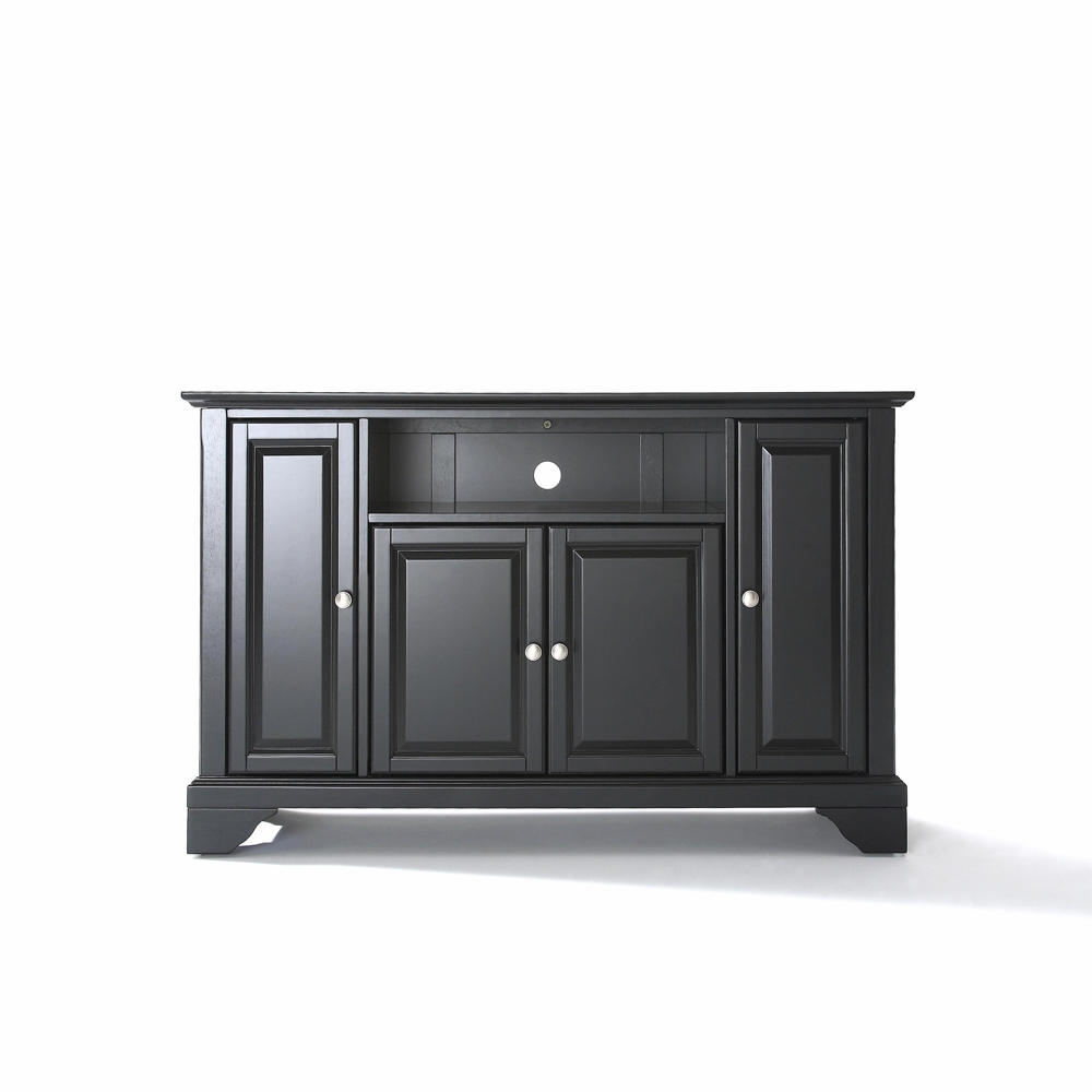 Crosley Furniture Lafayette 48 Tv Stand In Black Finish Kf10002bbk intended for proportions 1000 X 1000
