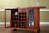 Crosley Furniture Lafayette Sliding Top Bar Cabinet for sizing 1600 X 1600