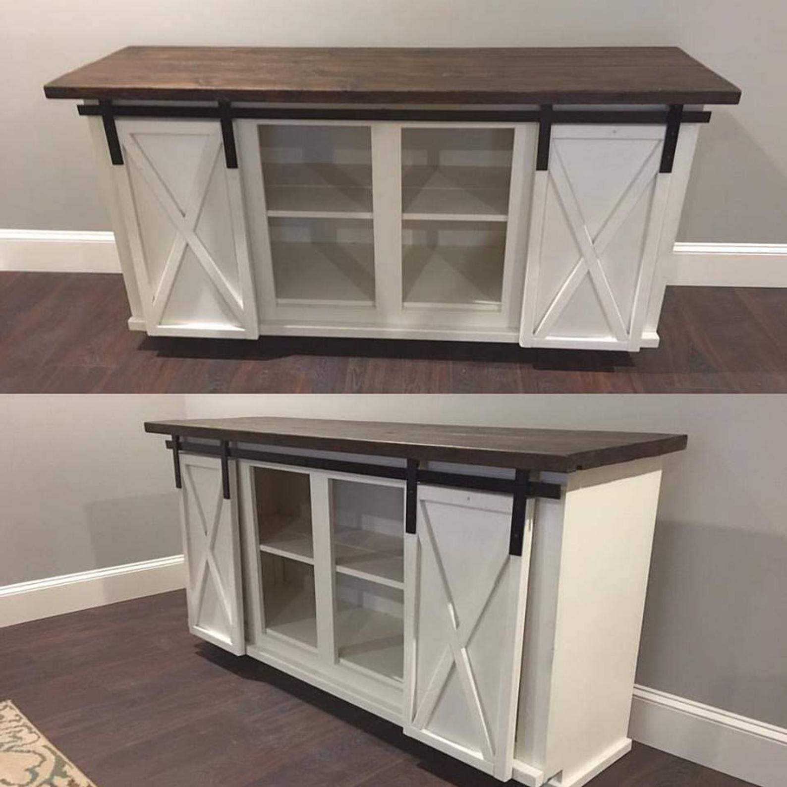 Custom Sliding Barn Door Bar Cabinet In 2019 Storage with regard to proportions 1588 X 1588