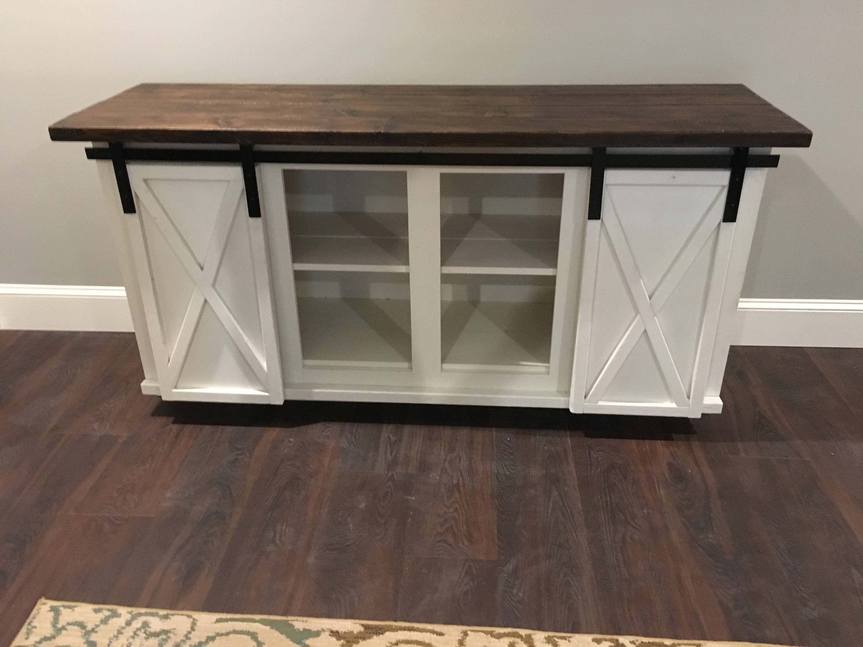Custom Sliding Barn Door Bar Cabinet intended for sizing 3000 X 2250