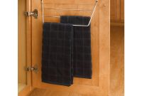 Details About Towel Holder Rack Chrome Inside Cabinet Door Mount Organizer Kitchen Sink Drying for sizing 1000 X 1000