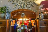 Drinks Cabinet Stock Photos Drinks Cabinet Stock Images for measurements 866 X 1390