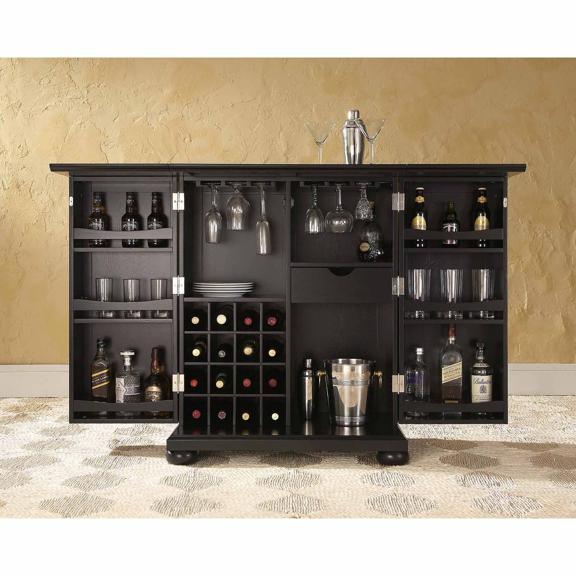 Furniture Of America Wolfgang Home Bar Cabinet intended for sizing 2000 X 2000