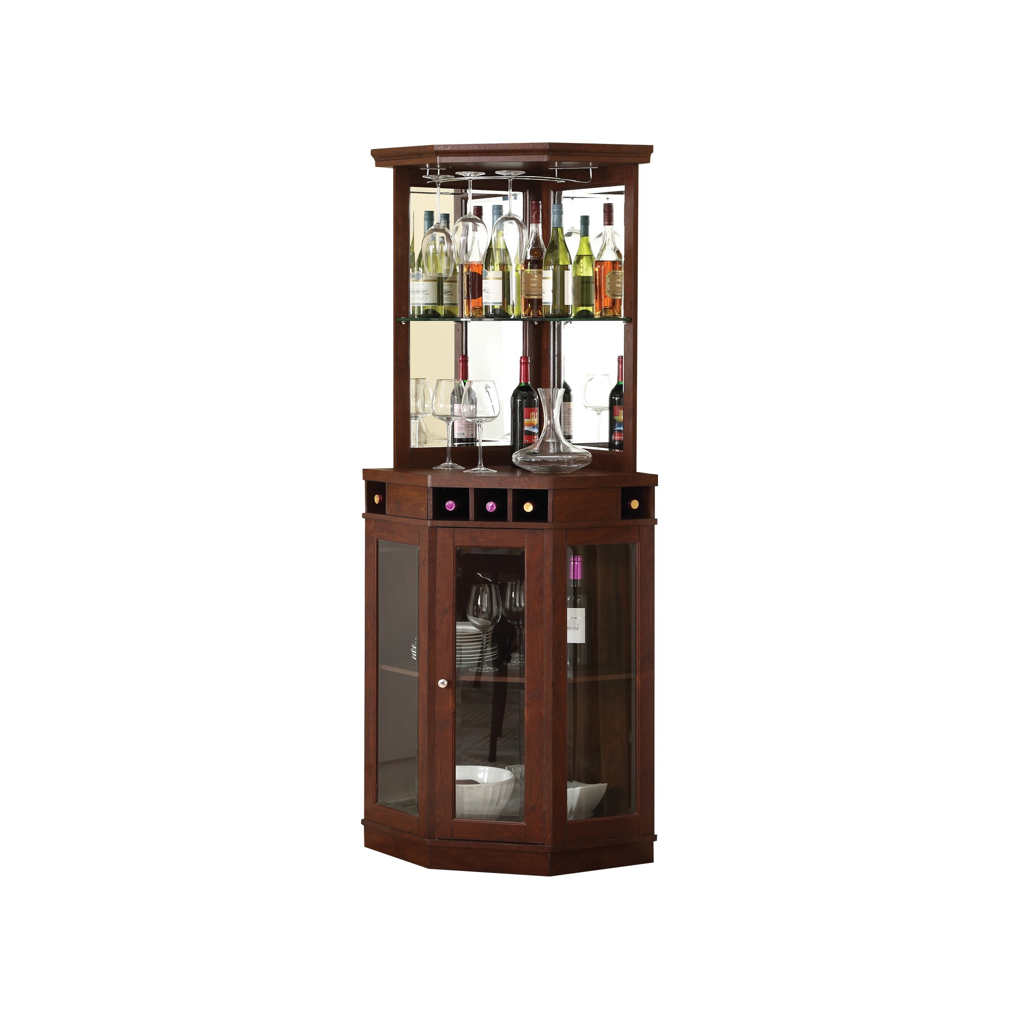 Home Source Corner Bar Unit Mahogany Products In 2019 in sizing 2000 X 2000