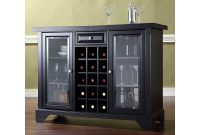 Lafayette Crosley Furniture Sliding Top Bar Cabinet intended for measurements 2000 X 2000