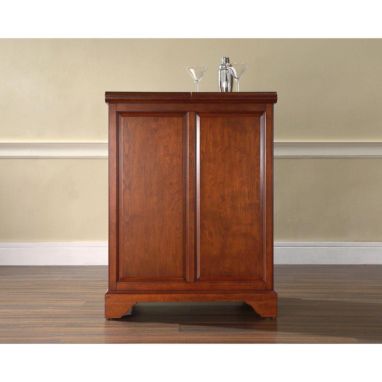 Lafayette Expandable Bar Cabinet Cherry D Kf40001bch regarding size 1500 X 1500