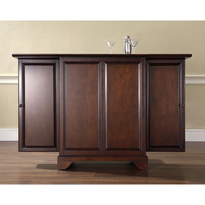 Lafayette Vintage Mahogany Wood Expandable Bar Cabinet within sizing 3000 X 3000