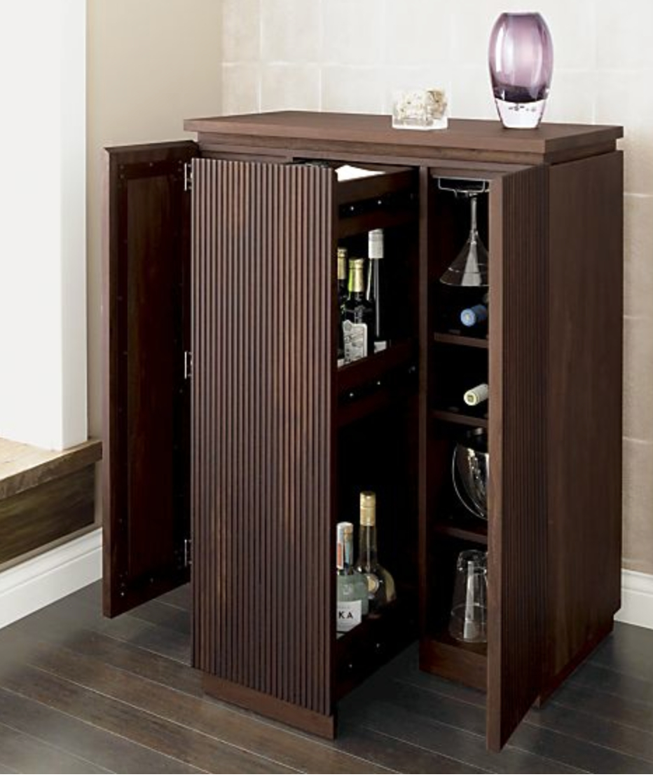 Liquor Cabinet From Crate And Barrel Liquor Cabinets within measurements 932 X 1118