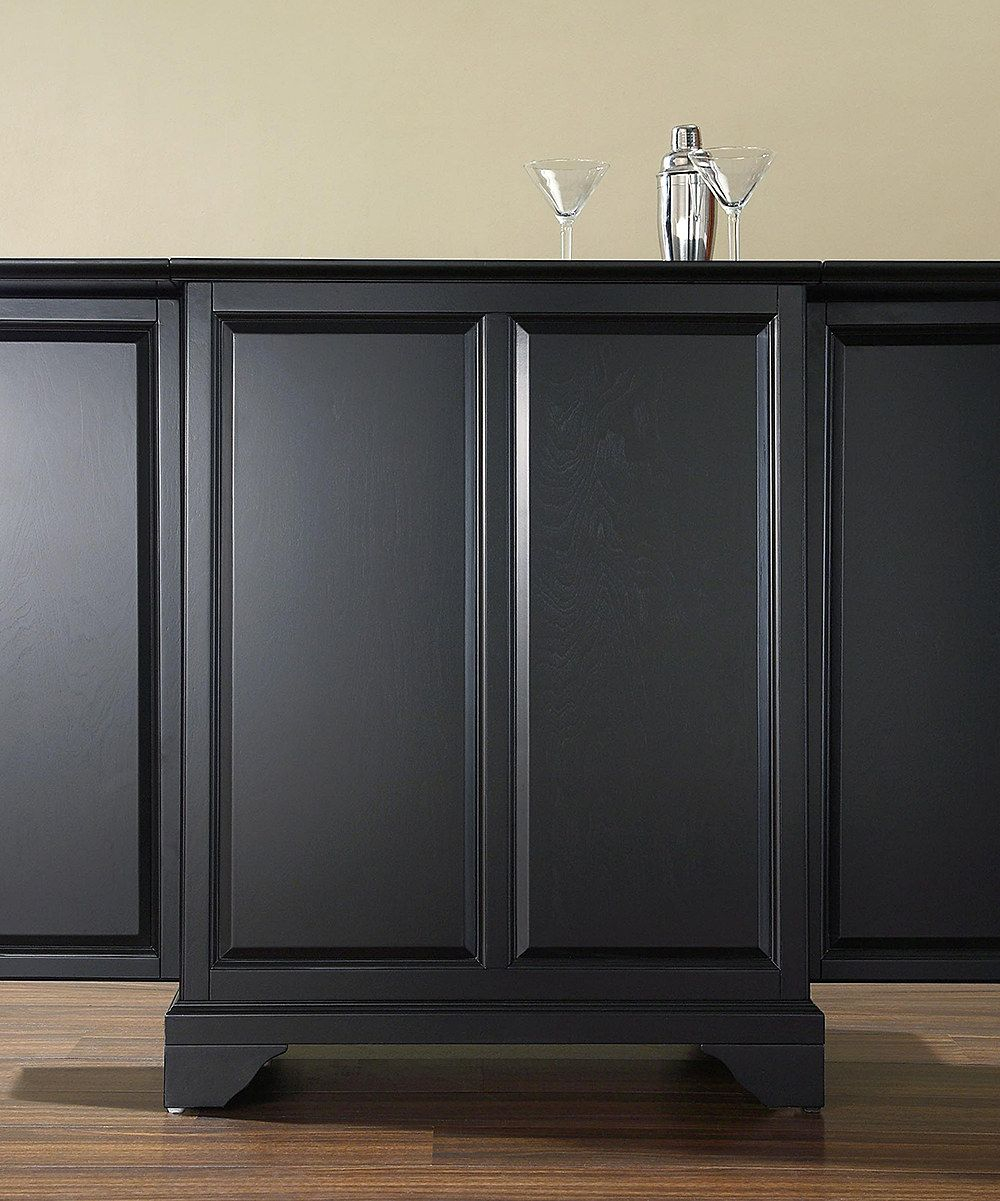 Look At This Black Lafayette Expandable Bar Cabinet On regarding proportions 1000 X 1201