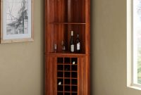 Louis Rustic Solid Wood Corner Bar Cabinet inside sizing 1200 X 1200