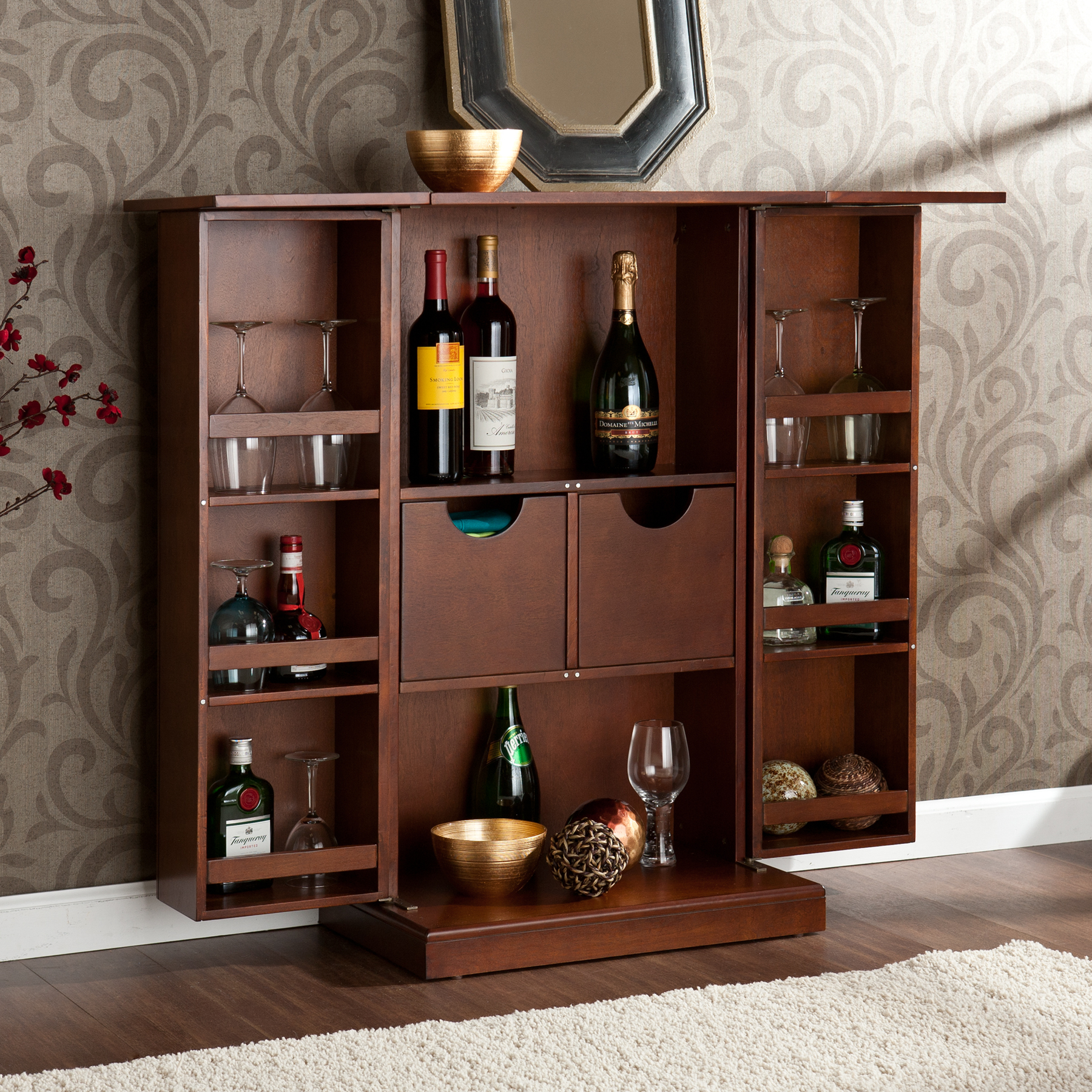 Mini Bar Cabinet Design Ideas Home Design And Decor regarding proportions 1800 X 1800