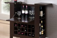 Mini Bar Furniture Cabinet Wine Dry Office Home Wooden within proportions 1000 X 1000