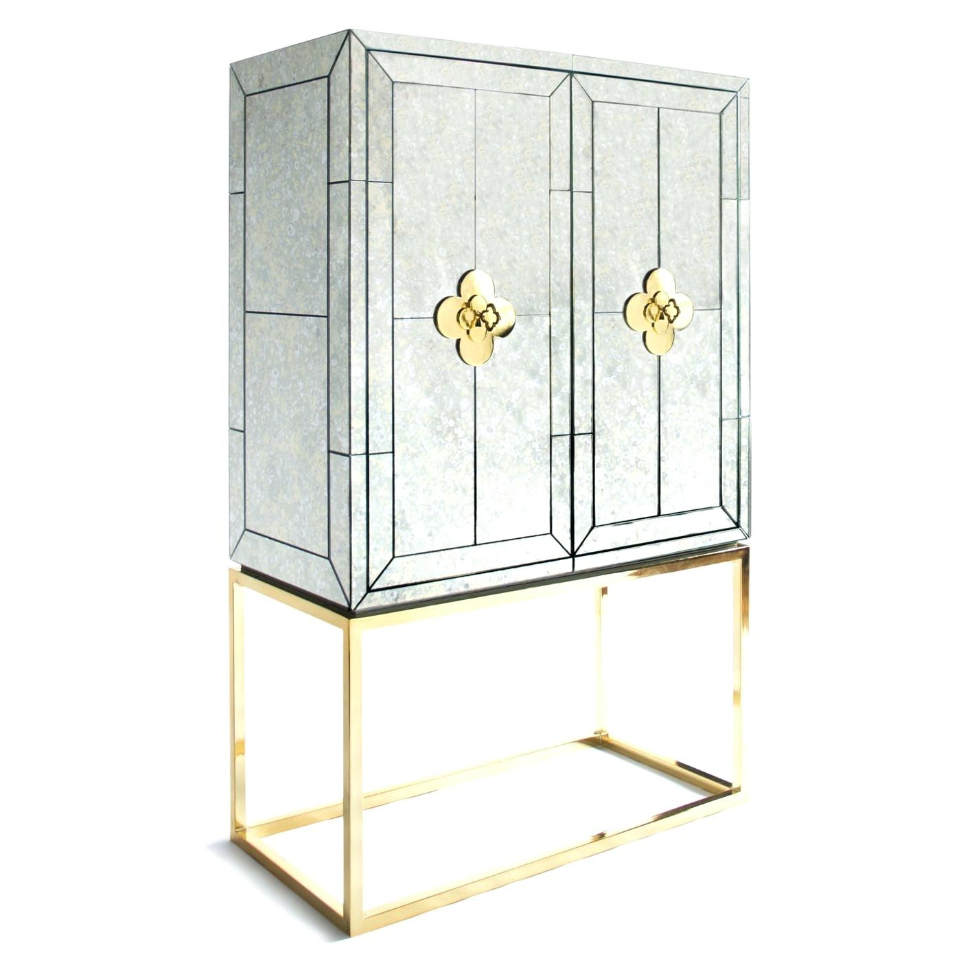Mirrored Bar Cabinet Nglob with dimensions 1400 X 1400