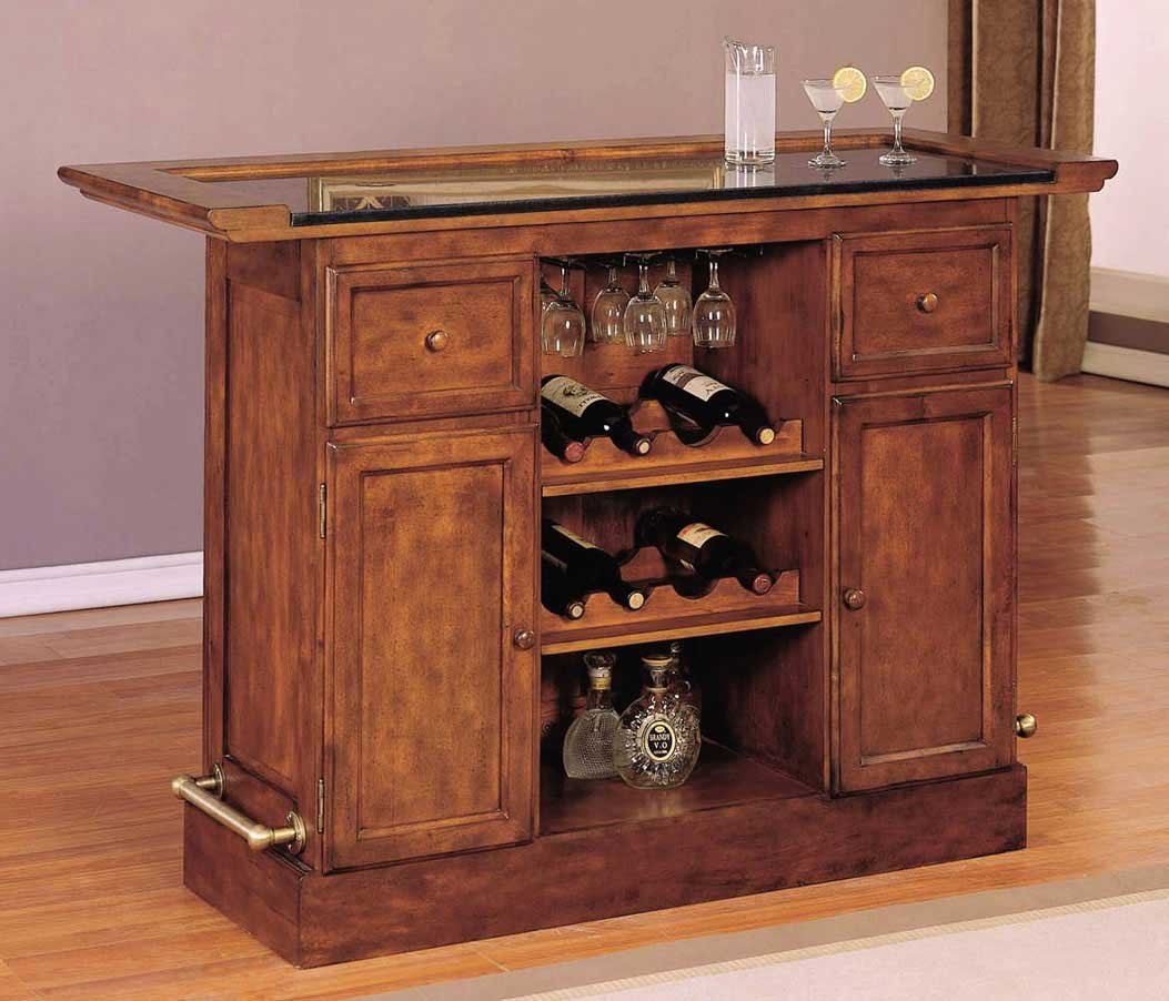 Modern Home Bar Cabinet Built In Bars For The Brown Wooden throughout sizing 1053 X 902