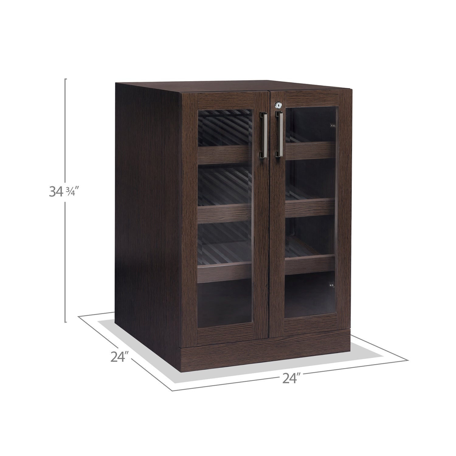 Newage Products Home Bar Series 24 Display Cabinet with regard to dimensions 1500 X 1500