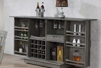 Ophelia Co Vergara Expandable Bar Cabinet Reviews Wayfair for size 1340 X 1200