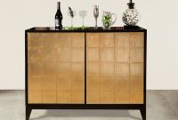 Port Eliot Antique Black Gold Bar Cabinet intended for dimensions 1200 X 900