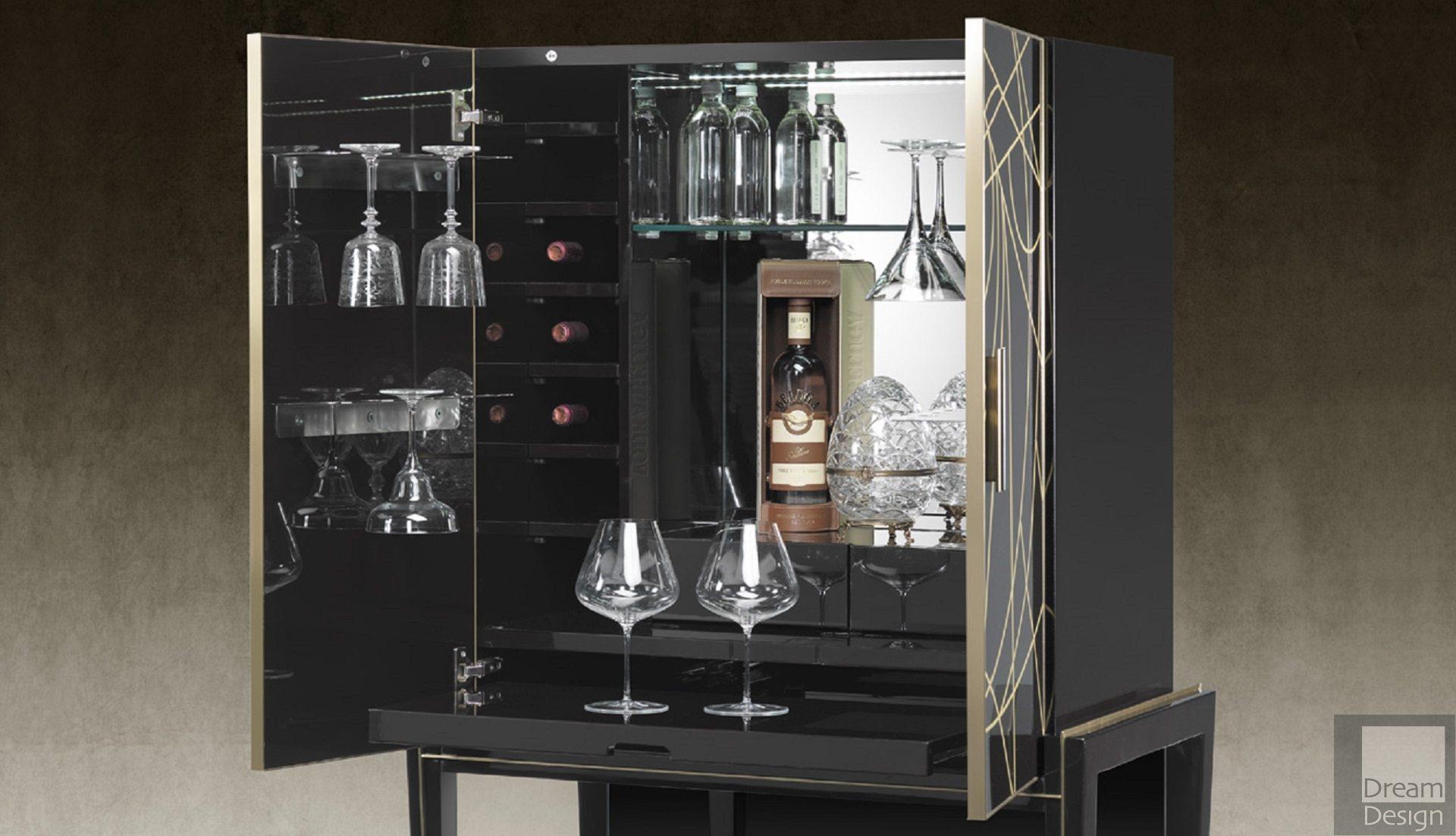 Reflex Angelo Belle Epoque Bar Cabinet for dimensions 1920 X 1102