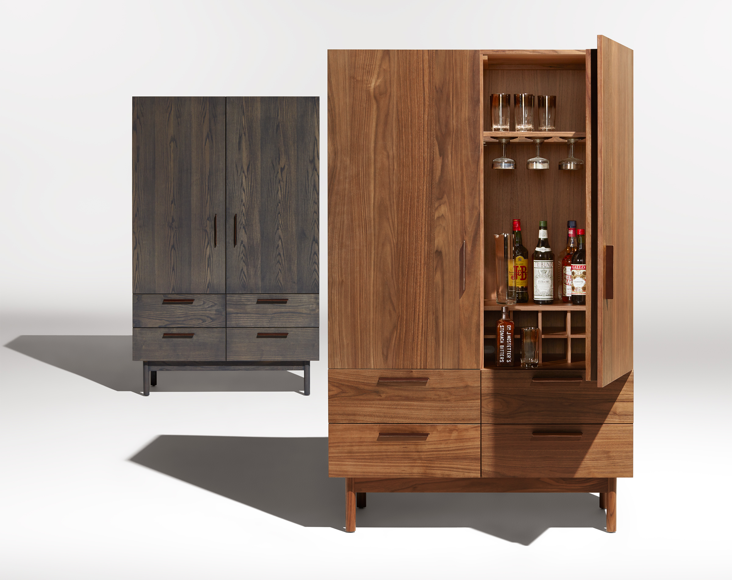 Shale Bar Cabinet with sizing 2400 X 1902