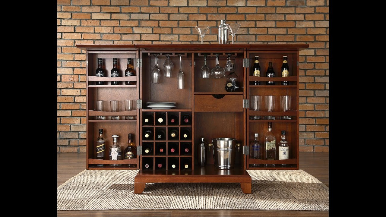 The Most Valuable Small Bar Cabinet Design For Best Home Bar intended for sizing 1280 X 720