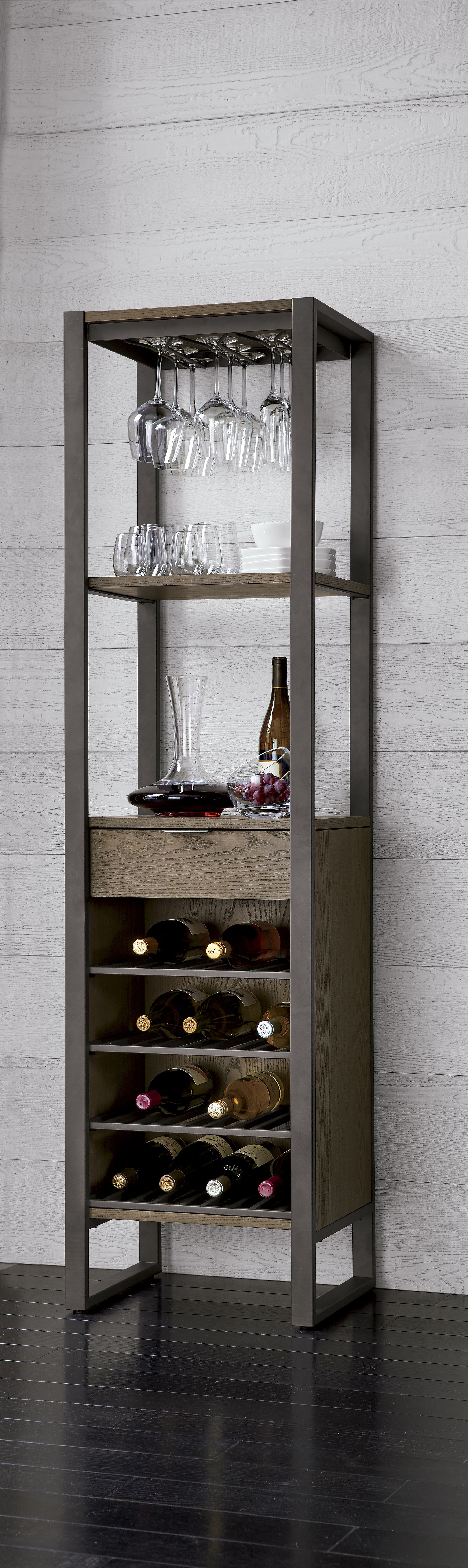 This All In One Wine Tower Promises To Be The Center Of The with regard to dimensions 2000 X 6691