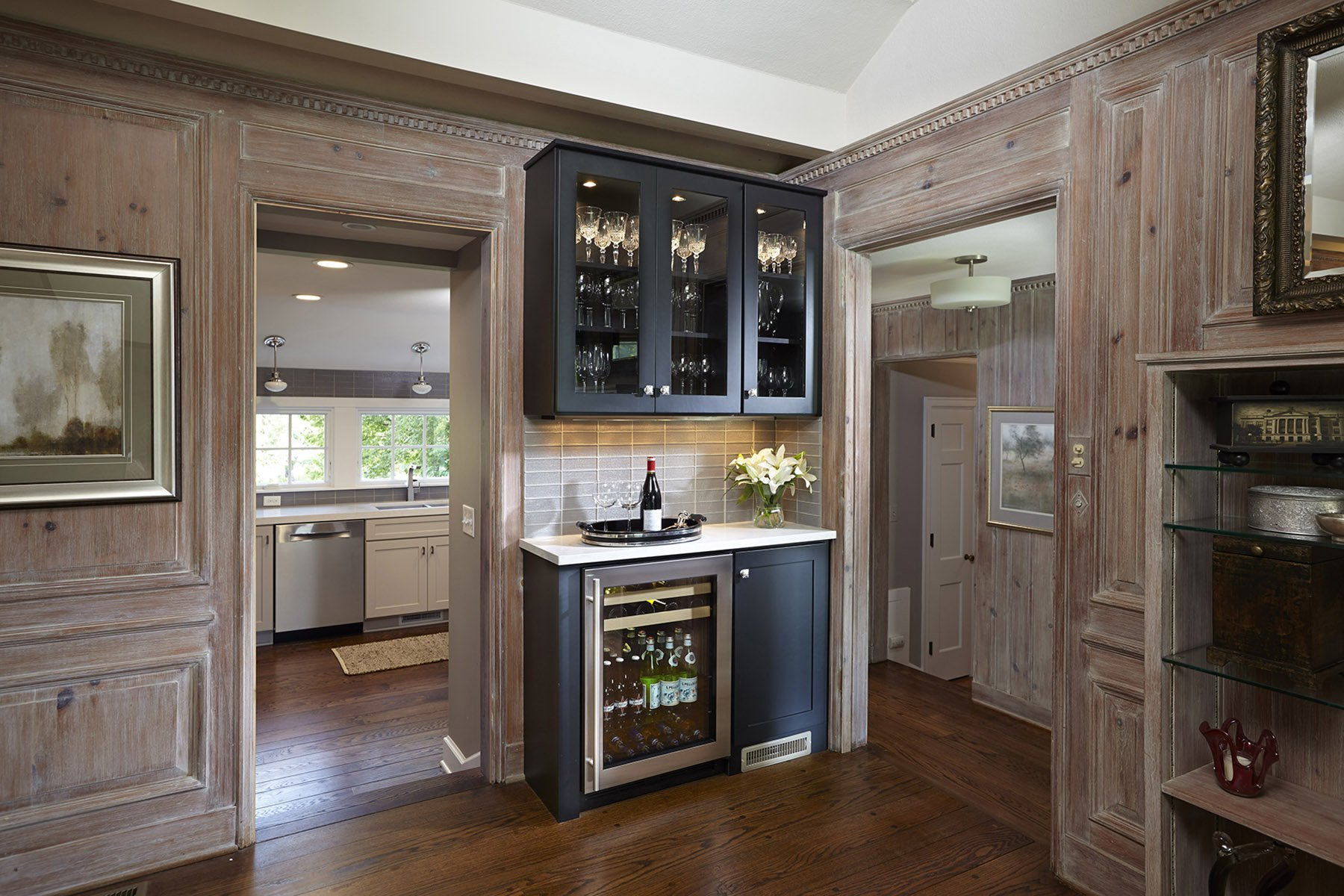 Use Cabinets To Build A Built In Hutch Buffet Or Bar Circus with size 1800 X 1200