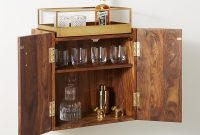 Wall Mounted Bar Cabinet Reviews Libations In 2019 pertaining to measurements 1050 X 1050