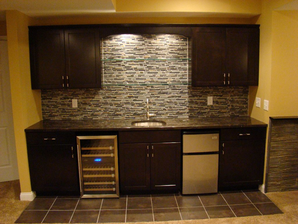 Wet Bar Wall Only Fridge Cabinets Ideas For My Current within sizing 1024 X 768