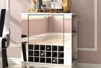 Willa Arlo Interiors Jettie Bar Cabinet Reviews Wayfair intended for proportions 2000 X 2000