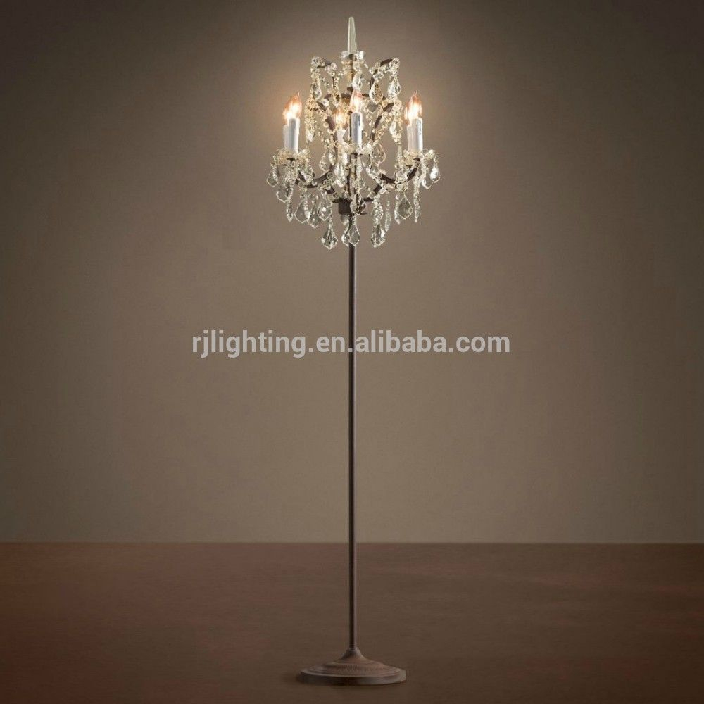 Alibaba Gold Supplier Decorative Standing Crystal Chandelier within dimensions 1000 X 1000