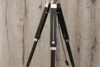 Black Stand Camera Light Tripod Vintage Retro Floor Lamp throughout proportions 800 X 1826