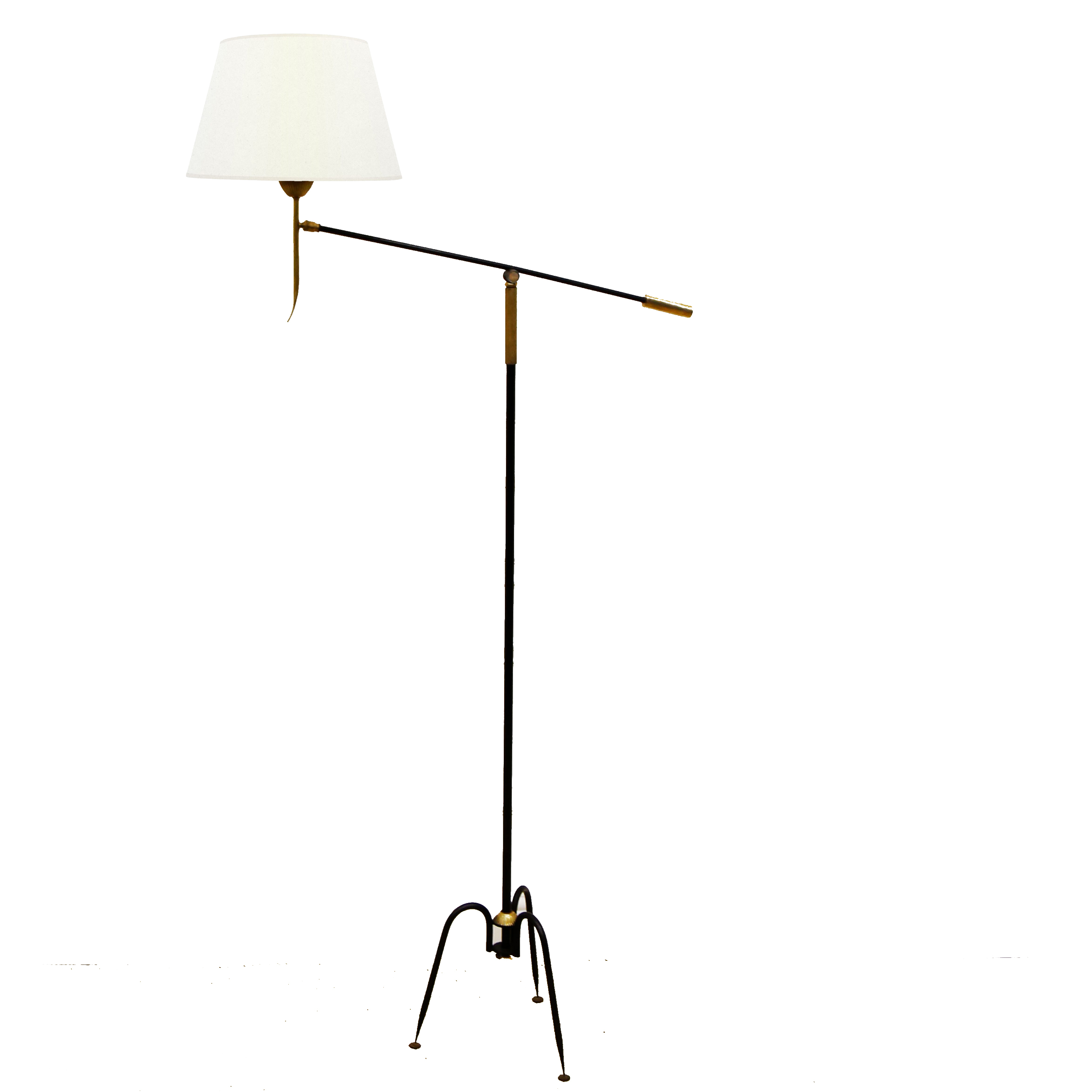 Circa 1960 French Floor Lamp with proportions 2946 X 2946